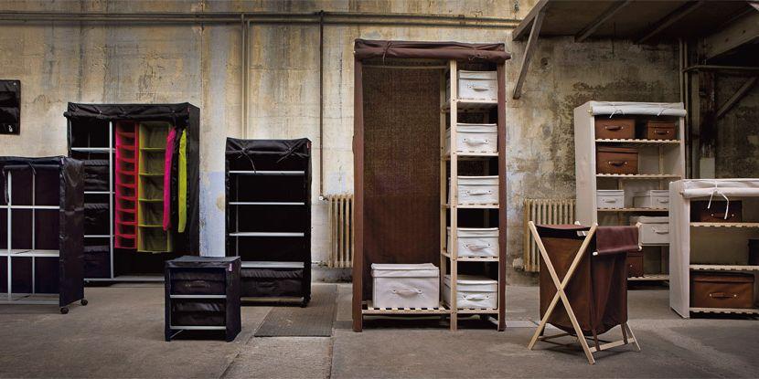 Prix et caractéristiques des armoires et penderies en tissu | Espace ...